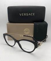 New VERSACE Rx-able Cat Eye Eyeglasses VE 3254-A GB1 54-16 Black & Gold ... - $299.98