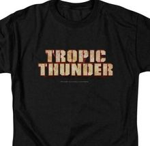 Tropic Thunder t-shirt 2008 action comedy film Ben Stiller graphic tee PAR218 image 3
