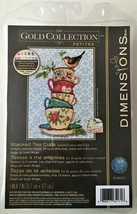 Dimensions Gold Collection Petites Stacked Teacups Cross Stitch Kit Susan Winget - $17.82