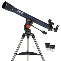 Celestron 21061 AstroMaster 70AZ Refractor Telescope Telescopes Binocula... - $125.72