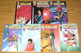 Hiroshi Yakumo's Hurricane Girls #1-7 VF/NM complete series - antarctic press - $17.99