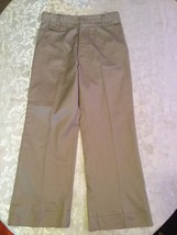 Girls-Size 12-Beverly Hills Polo Club/uniform-khaki pants-Great for school - $10.75
