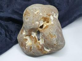 Hag Stone Witch Stone Crick Odin Stone Water Elemental Stone 3 Hole Wicc... - $28.81
