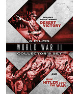 WORLD WAR II COLLECTOR'S SET: 6 FILMS (DVD) Double Sided Disc - $2.75