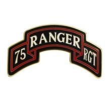 ARMY COMBAT SERVICE ID BADGE (CSIB):75TH RANGER REGIMENT SCROLL - $19.78