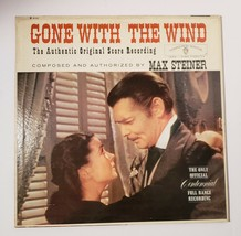 GONE WITH THE WIND OST Max Steiner Warner Bros W 1322 LP Vinyl Record Album - $11.83