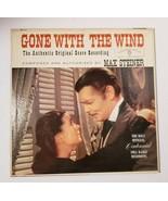 GONE WITH THE WIND OST Max Steiner Warner Bros W 1322 LP Vinyl Record Album - $11.83
