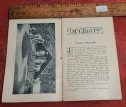 Vintage Cocoa Cookbook of Recipes, Tips and Information Paper Pamphlet image 3
