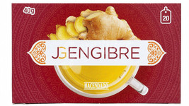 Ginger 20 Individual Bags Tea Weight Loss Indigestion Cholesterol - $11.80