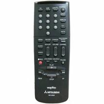 Mitsubishi HS-U550 Factory Original VCR Remote For HS-U250, HS-U550, HS-U28 - $11.59