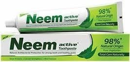 2 Tubes Neem Advance Toothpaste 100% Vegetarian 125g - $8.99