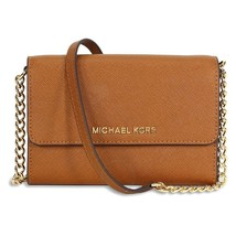 NWT Authentic Michael Kors Jet Set Large Phone Crossbody Messenger Shoul... - $166.27