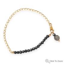 Sunset Design Black Czech Glass Bracelet - $39.98
