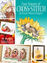 Four Seasons In Cross Stitch House Mouse cross stitch chart Annie's Publ... - $13.50