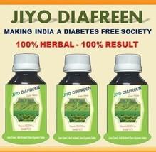Jiyo Diafreen Anti Diabetes Syrup 100% Natural Boon To Diabetes 3x100ml - $24.99