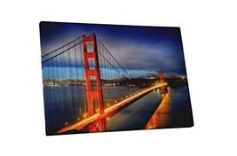 "Pingo World 0829QGNQPQA ""San Francisco Golden Gate Bridge"" Gallery Wrapped Canva - $138.55"