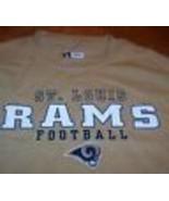 ST. LOUIS RAMS NFL FOOTBALL T-Shirt MENS MEDIUM NEW - $19.80