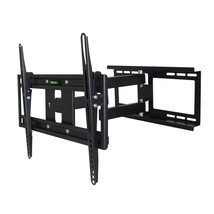 MegaMounts Full Motion Wall Mount with Bubble Level for 26 - 55 Inch LCD... - $59.23