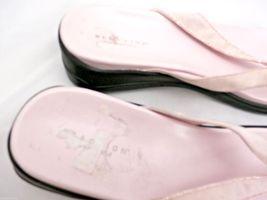 Kenneth Cole Reaction Pink Razzle Dazzle Thongs Flip Flops Sandals Womens 10 image 3