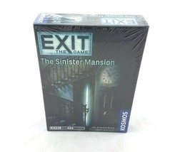 Exit The Game The Sinister Mansion At Home Escape Room Kosmos NEW Sealed - $19.79