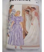 Butterick 3616 Bride Wedding Bridesmaid Dress Pattern B 32  - $15.99