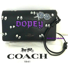 Coach Disney Dopey Snow White Dark Fairy Tale Crossbody Bag NWT - $224.99
