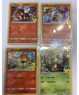 Pokemon McDonalds 25th Anniversary Promo Card HOLO lot Litten Scorbunny ... - $18.69