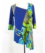 Jersey Knit Size L Asymmetrical Boutique Top - $49.00