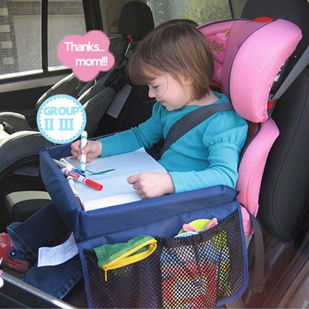 baby car play tray table waterproof automobile laptop stand car seat accessories. Black Bedroom Furniture Sets. Home Design Ideas