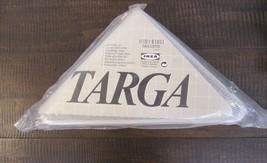 "Ikea ""targa"" wire corner shelf white new rare hard to find w/ instructions disco - $26.73"