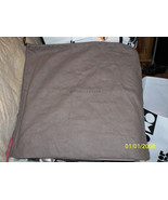 New Huge Brown Flannel Bottega Veneta 19x19 Dust Bag - $19.79