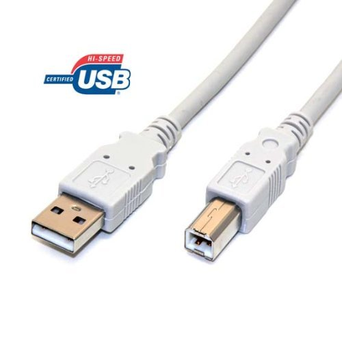 Primary image for 6FT High-Speed USB 2.0 printer cable A to B for HP Deskjet 3747