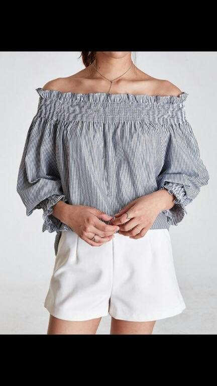 [Shoeming] Cotton Candy Pitcher Blouses Korean style