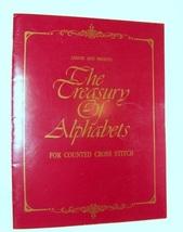 Treasury of Alphabets Counted Cross Stitch - $6.00