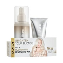 Joico Blonde Life Brightening Veil 5.1 oz and Masque Travel Size - $18.80