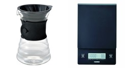 Hario V60 Drip Scale and Drip Decanter Sets Sold Together - $78.20