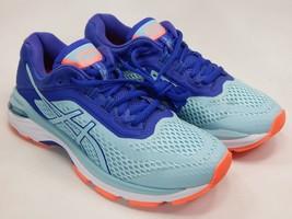 Asics GT 2000 v 6 Size US 7 M (B) EU 38 Women's Running Shoes Blue Aqua T855N image 2