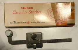 VINTAGE SINGER CIRCULAR STITCHER  No. 161847 IN BOX FOR TOUCH & SEW MA... - $10.39