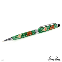 Henri Purec Mother of Pearl BALL POINT PEN Model GP-PGR Green  - $49.99