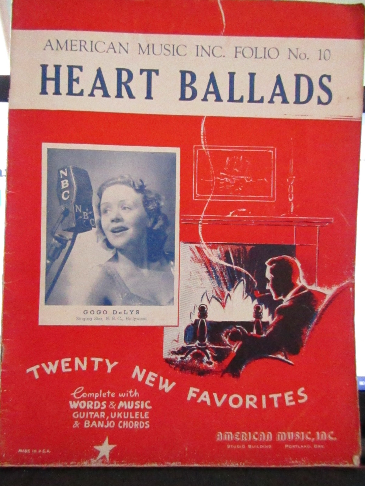 American Music Inc. Folio No. 10 Heart Ballads