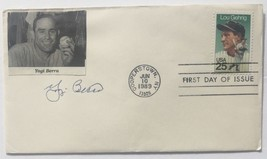 Yogi Berra New York Yankees Signed Gateway First Day Cover BAS - $126.42