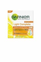 3 X Garnier Skin Naturals White Complete Fairnes Cream spf 19 40 g+BB CR... - $22.97
