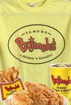 Bojangles Fast Food T-shirt retro vintage 100% cotton 80's nostalgic graphic tee image 3