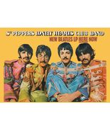 The Beatles Sgt. Pepper's Record Store Promo Card 13x19 in Sgt. Pepper O... - $24.99