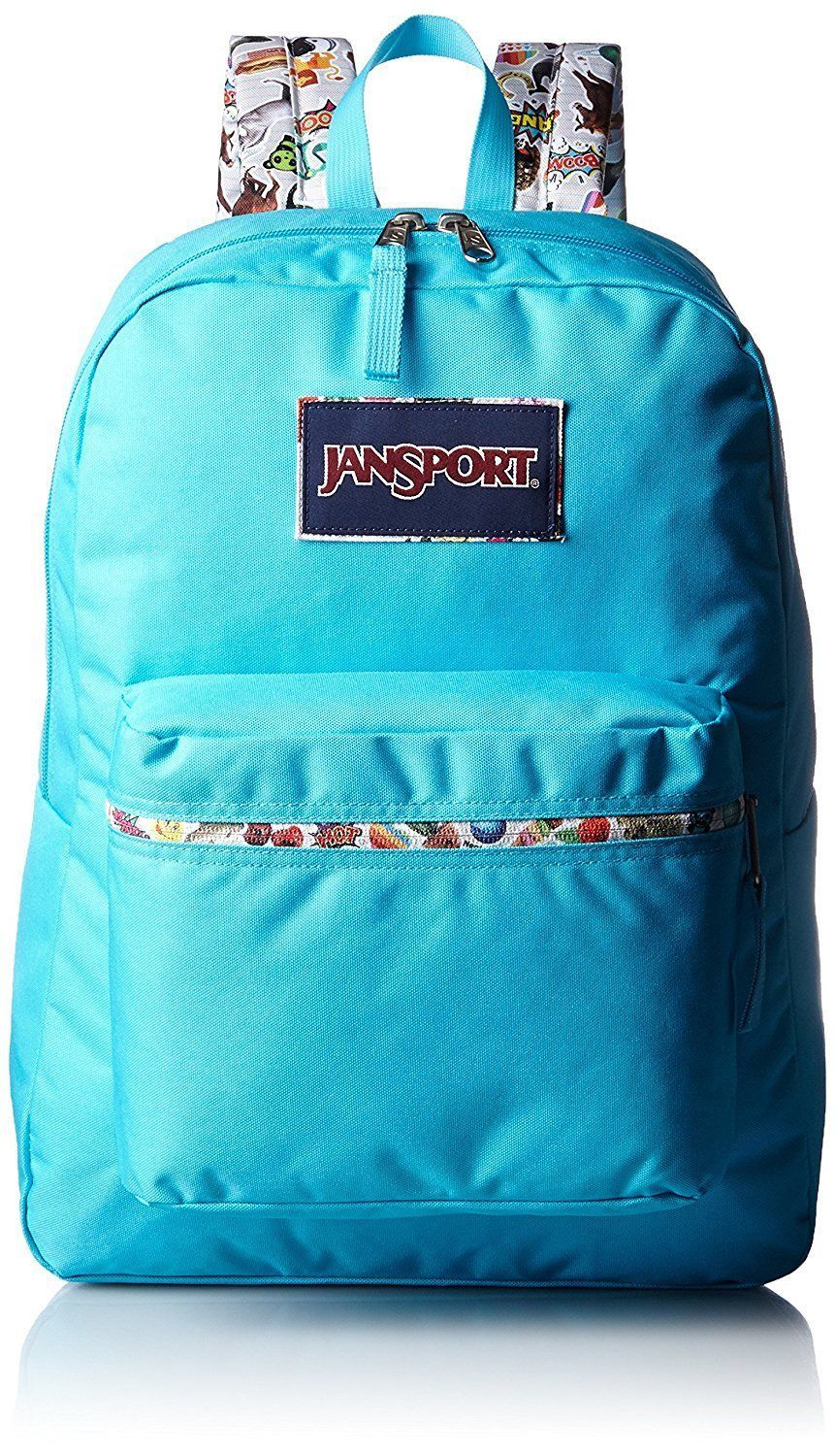 Trans Jansport Backpack Aqua – Patmo Technologies Limited