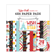 """Echo Park """"Wish Upon a Star"""" 6x6"""" Paper Pad - 24 Double-Sides Papers"""