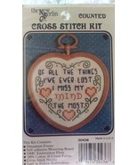 The New Berlin Mini Counted Cross Stitch Kit 'Of All The Things I've Eve... - $16.99