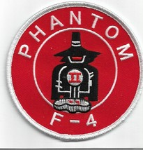 USAF F4 Phantom II Fighter Pilot Patch & 3'' Sticker Vietnam  NEW!!! - $17.81