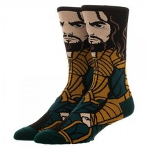 Justice League Aquaman DC Comics Adult 360 Crew Socks - $9.99