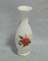 "Royal Albert England Poinsettia 7 1/4"" Bud Vase - $16.83"